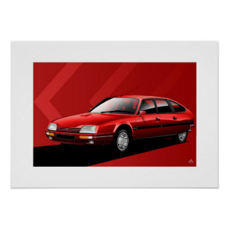 Citroen CX MK2 GTI Turbo 2 Poster
