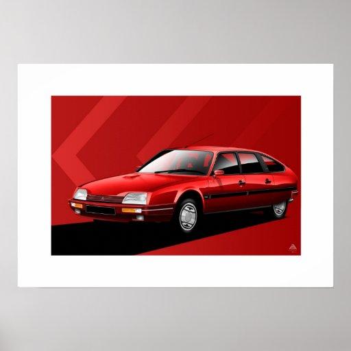 Citroen CX MK2 GTI Turbo 2 Poster