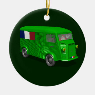 Citroen Type H Van Tube Ceramic Ornament