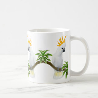 Citron Crested Cockatoo Mug