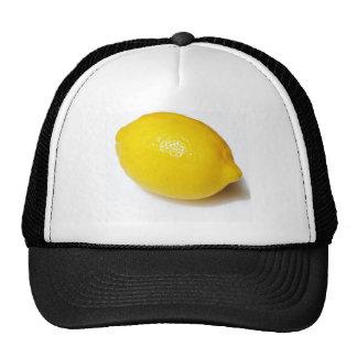 Citron jaune lumineux casquettes de camionneur