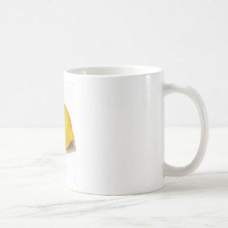 Citron jaune lumineux tasse à café