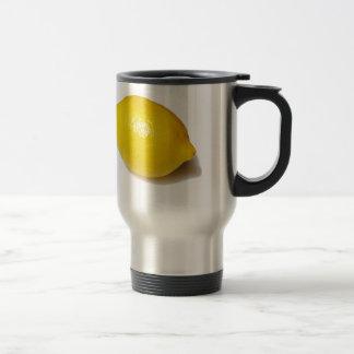 Citron jaune lumineux tasse