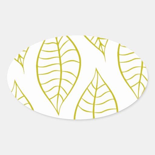 Citron Leaves Sticker