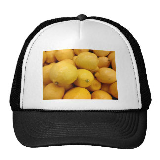 Citrons jaunes casquettes