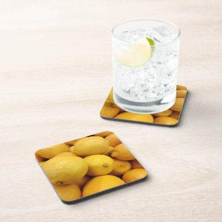 Citrons jaunes dessous-de-verre
