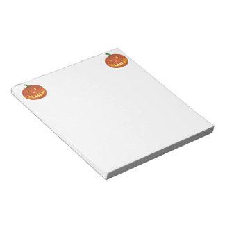 Citrouille pour Halloween ... Notepad