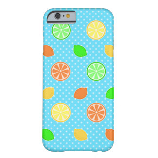 Citrus Bliss in Blue Barely There iPhone 6 Case