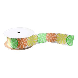 Citrus Bliss Ribbon Satin Ribbon