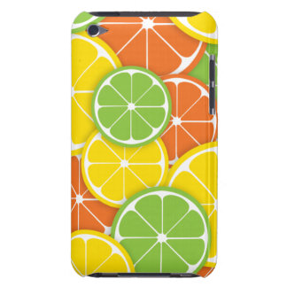 Citrus crush juicy round lemon lime orange slices iPod touch covers