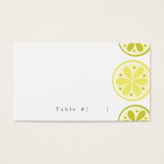 Citrus Escort Card