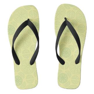 Citrus Flip Flops
