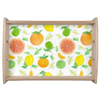 Citrus Fruit Grapefruit Lemon Oranges Limes Serving Tray