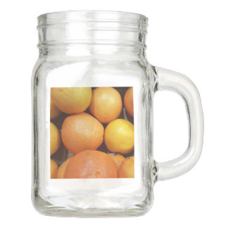 Citrus Fruit Mason Jar