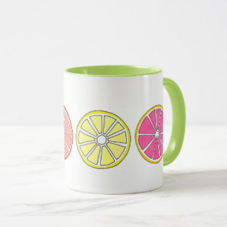 Citrus Fruit Orange Grapefruit Lemon Lime Tropical Mug