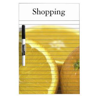 Citrus Fruits Dry-Erase Boards