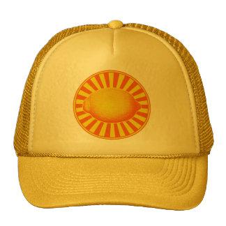 Citrus Lemon Emblem Trucker Hat