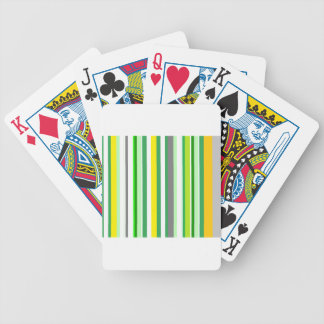 citrus LIMON lines Bicycle Playing Cards