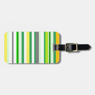 citrus LIMON lines Luggage Tag