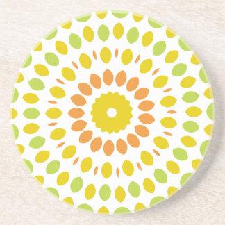 Citrus Mandala Coaster