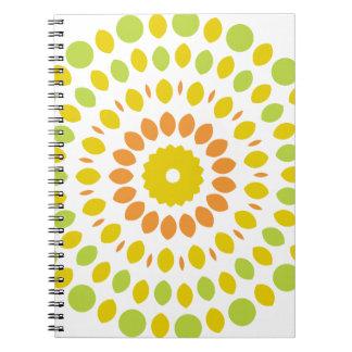 Citrus Mandala Notebooks
