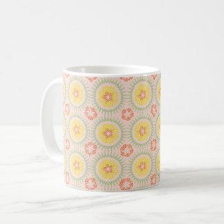 Citrus Mandala Pattern Mug