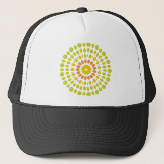 Citrus Mandala Trucker Hat