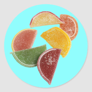 Citrus Marmalade Classic Round Sticker