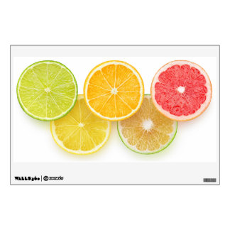 Citrus Olympics Wall Decal