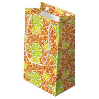 Citrus Pattern 2 Small Gift Bag