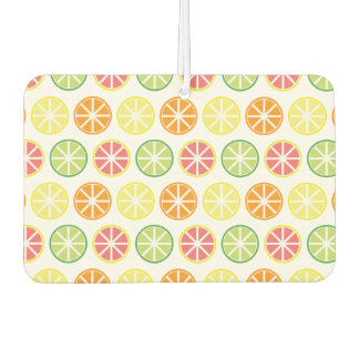 Citrus Pattern Car Air Freshener