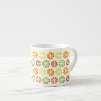 Citrus Pattern Espresso Cup
