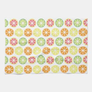Citrus Pattern Kitchen Towel