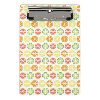 Citrus Pattern Mini Clipboard