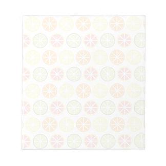 Citrus Pattern Notepad