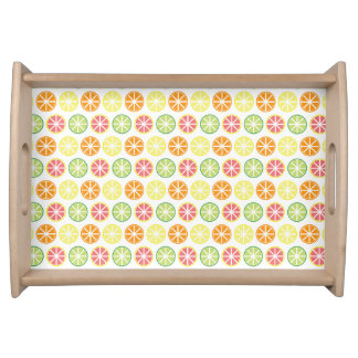 Citrus Pattern Serving Tray