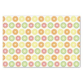 Citrus Pattern Tissue Pattern Tissue Paper
