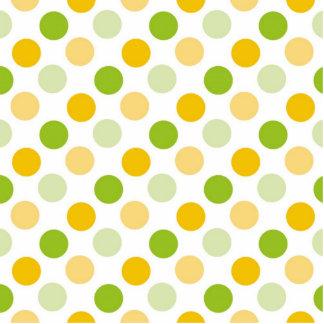 Citrus Polka Dots Photo Sculpture