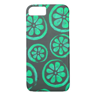 Citrus Slice Dark Mint iPhone 8/7 Case
