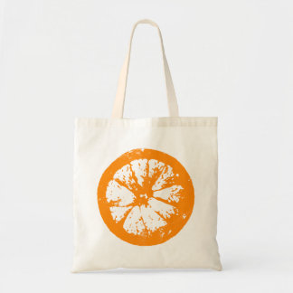 Citrus Slice Orange Tote Budget Tote Bag