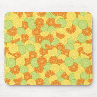 Citrus Slices Mouse Pad