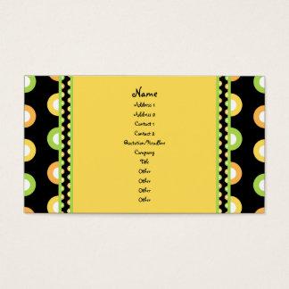 Citrus Splash Business Card