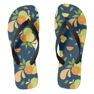 Citrus Splash Flip Flops