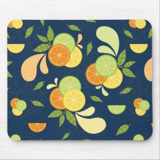 Citrus Splash Mouse Pad