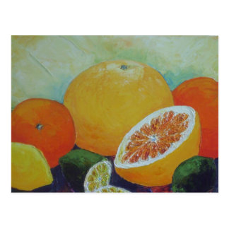 Citrus Splash Postcard