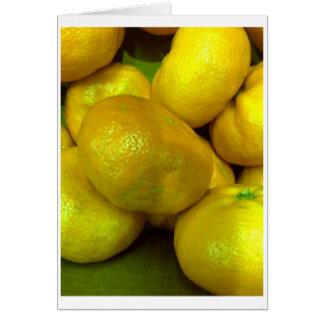 Citrus Squash Card