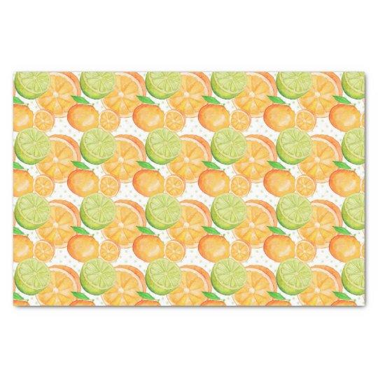 Citrus Tissue Paper
