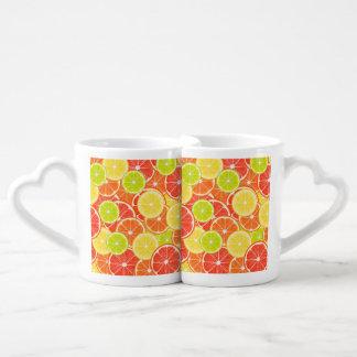 Citruses Coffee Mug Set