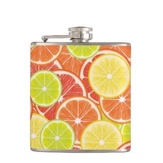 Citruses Hip Flask
