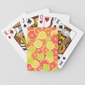Citruses Playing Cards